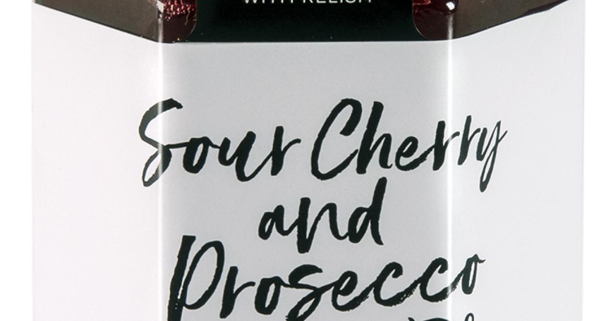 Sour Cherry & Prosecco Jam